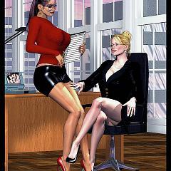 Lesbian having.