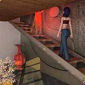 Lesbo 3D sex with a geisha.